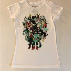 My Hero Academia T Shirt NWOT
